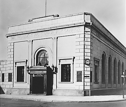 First Branch Office - Provident Bank - 1928
