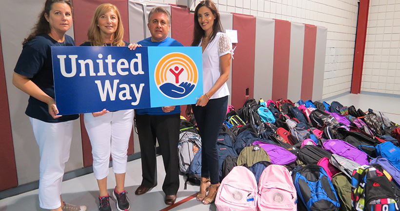 Provident Participates In Stuff the Bus Campaign - Banks In NJ
