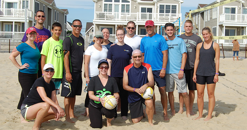 Provident Bank Raises More Than 4000 USD For Volleyball Tournament - Banks In NJ PA