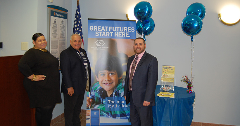 Provident Bank Supports The First Count 4 Kids Campaign In Perth Amboy NJ - Donations