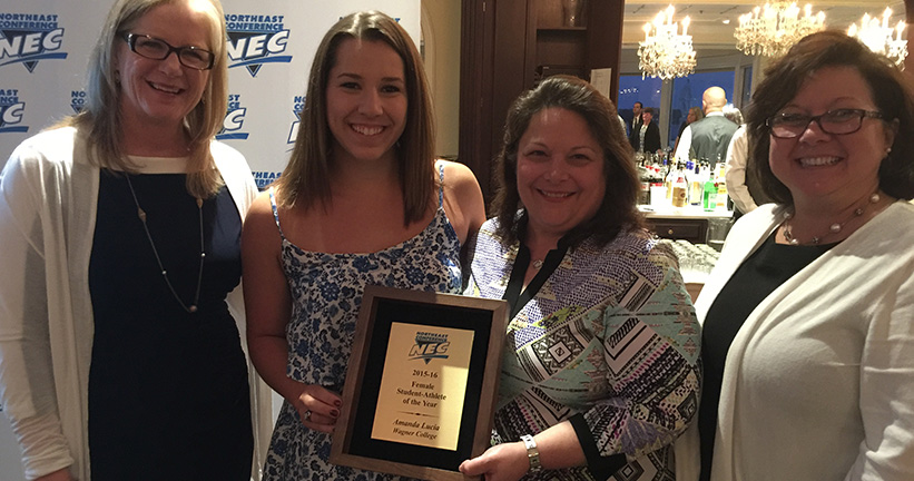 Provident Bank Awards 2016 Northeast Conference Studen Athletes - NEC - Banks In NJ