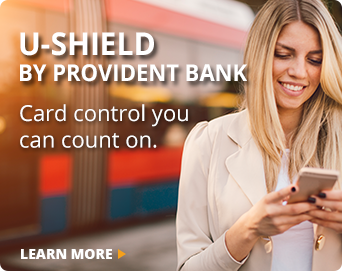 U-Shield Provident Bank Mobile App