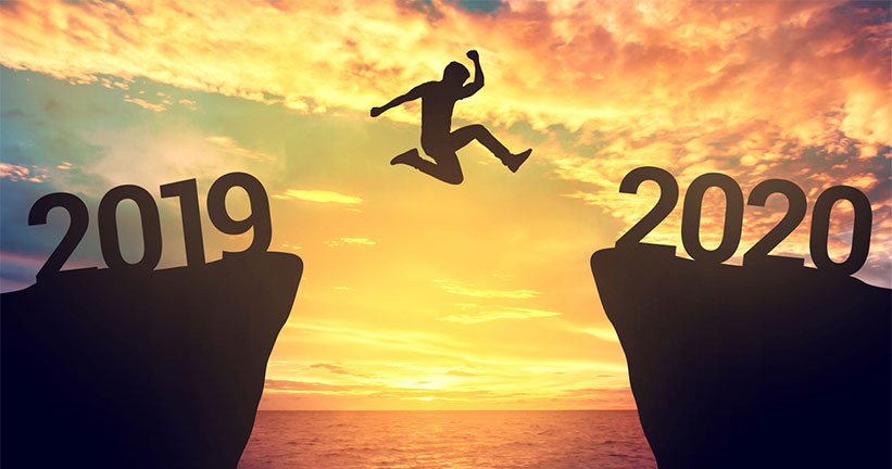 jumping from 2019 to 2020