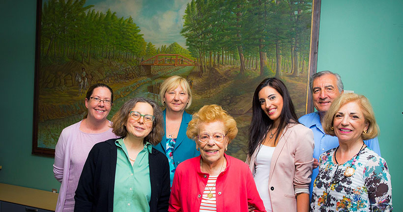Centenarian Visits Hudson County Community College - Banks In NJ