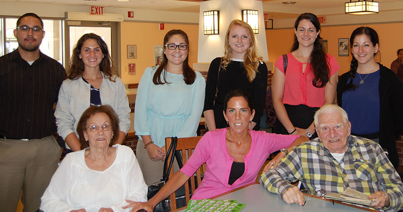 Provident Bank Interns Volunteer At NJ Veterans Memorial Home - Give Back To The Community