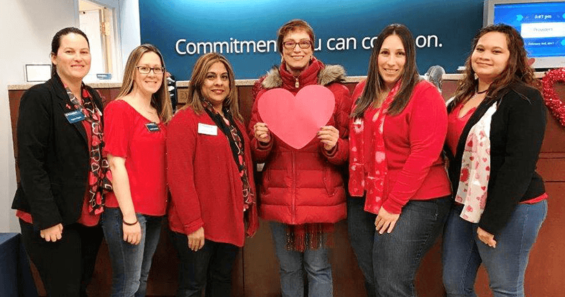 Go Red for Women Day -  Provident Supports The American Heart Association - Banks In NJ