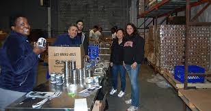 The Provident Bank Employees Volunteer at Community Foodbank - Banking NJ